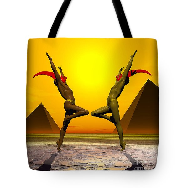 Exulting The Sun Tote Bag