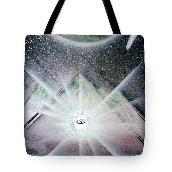 Eye Am I  Tote Bag