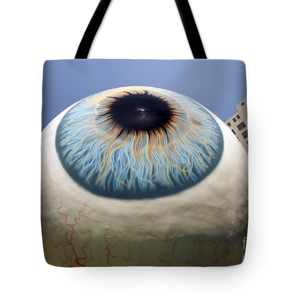 Eye Gigantus Tote Bag by Martin Konopacki