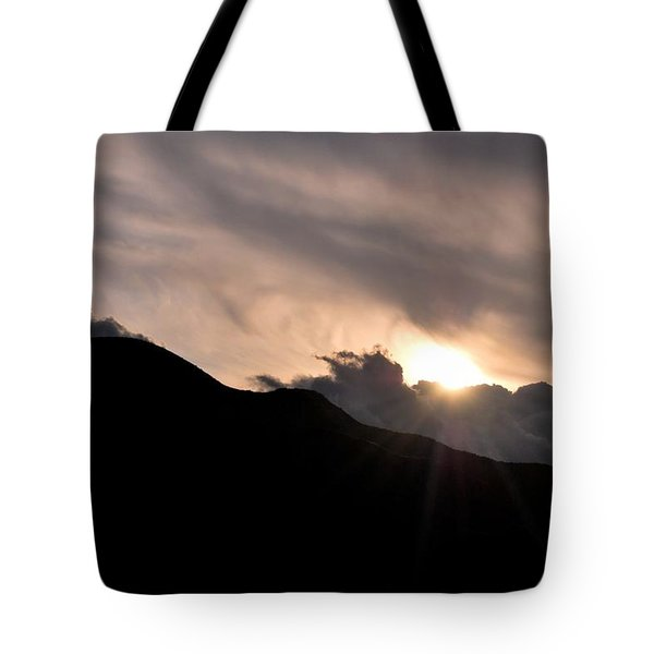 Tote Bag featuring the photograph Eye In The Sky by Matt Harang