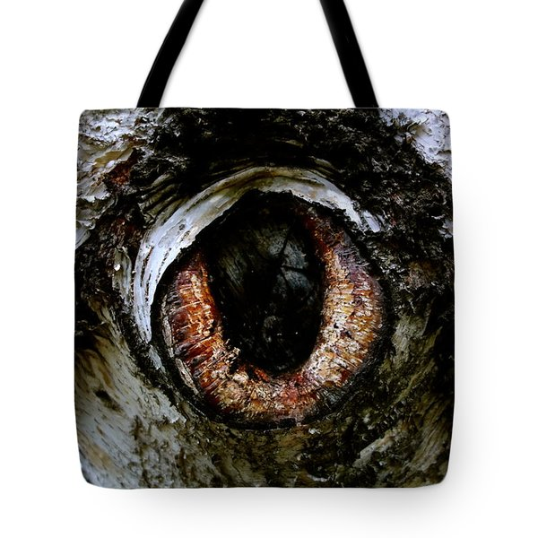 Eye In The Tree 1 Tote Bag by Jacqueline Athmann