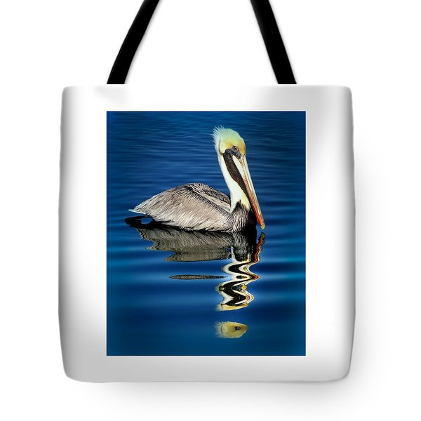 Eye Of Reflection Tote Bag