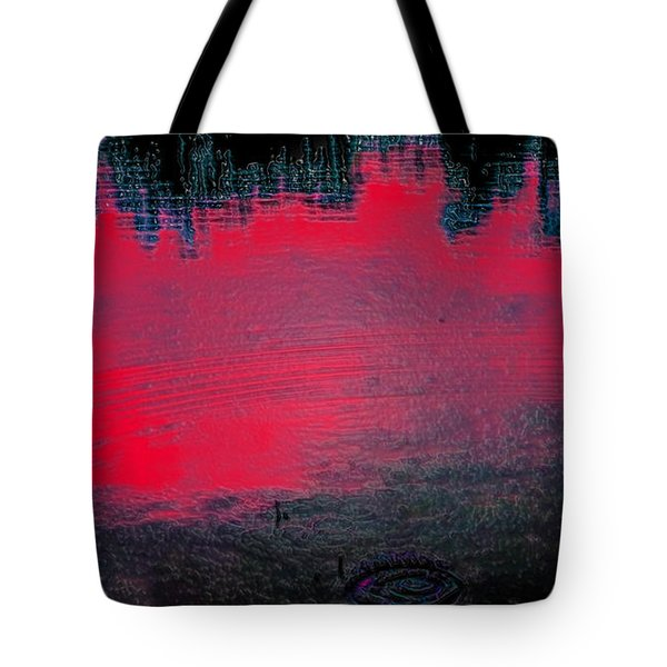 Create Reality Abstract Tote Bag