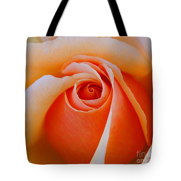 Eye Of The Rose Tote Bag