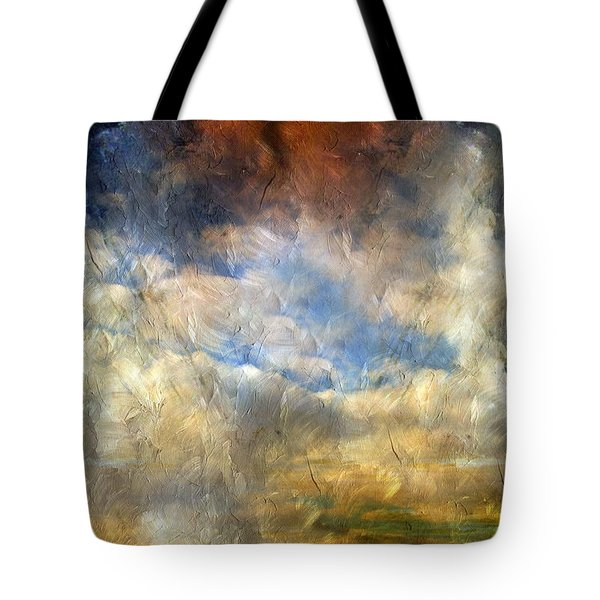 Eye Of The Storm  - Abstract Realism Tote Bag