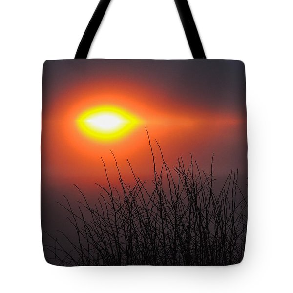 Eye Of Winter Tote Bag