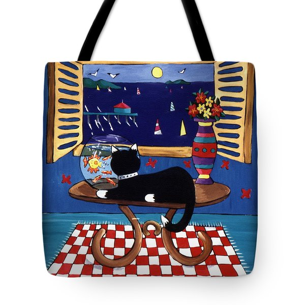 Eye On Lunch Tote Bag by Lance Headlee