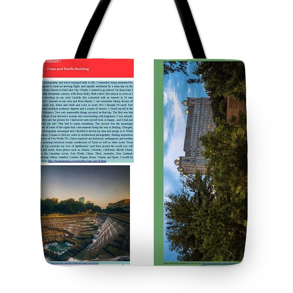 Eye On Photography Tote Bag by Joan Carroll
