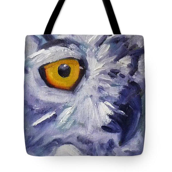 Eye On You Tote Bag by Nancy Merkle
