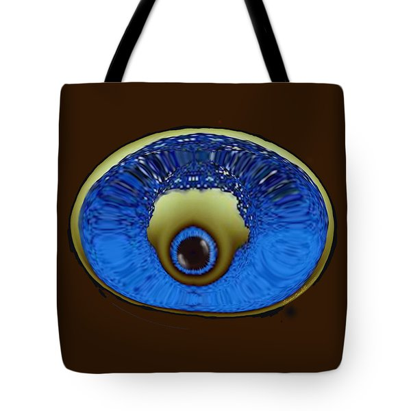 Eye Pod Tote Bag by Kevin Caudill