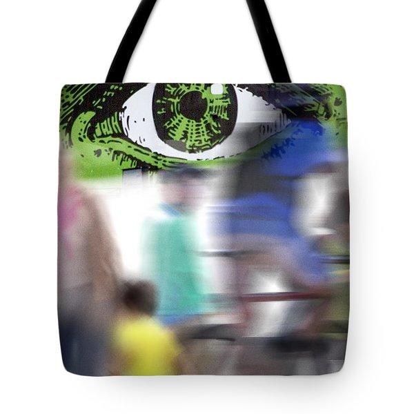 Eye Spy Tote Bag by Richard Piper