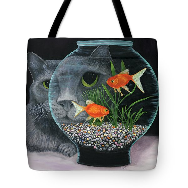 Eye To Eye Sq Tote Bag