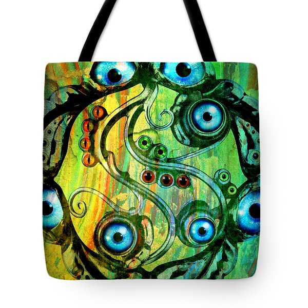Eye Understand Tote Bag by Ally  White