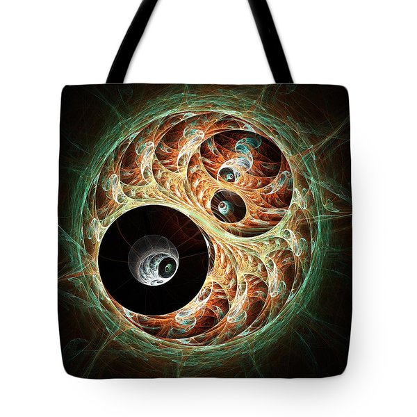 Eyeballs Tote Bag by Anastasiya Malakhova