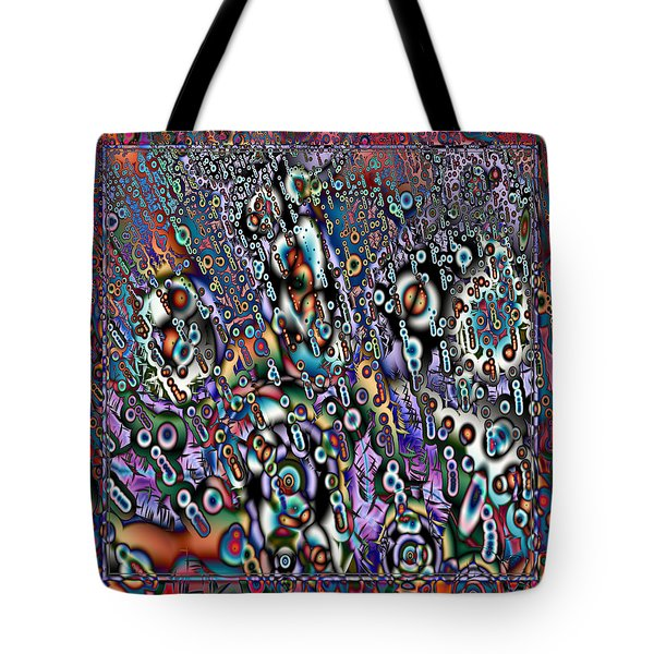 Eyeballs And Eight Balls Tote Bag