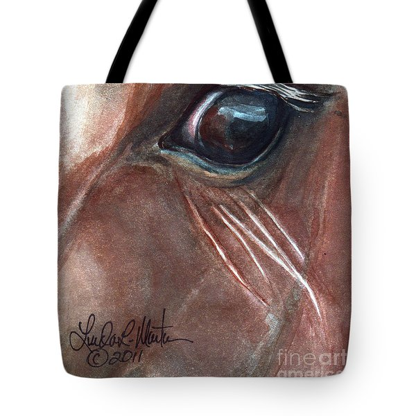 Eyebrow Cat Tote Bag