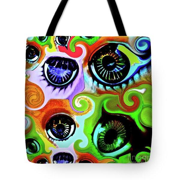 Eyecandy Tote Bag by Gwyn Newcombe