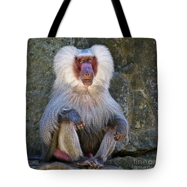 Eyes Front Tote Bag by Heiko Koehrer-Wagner