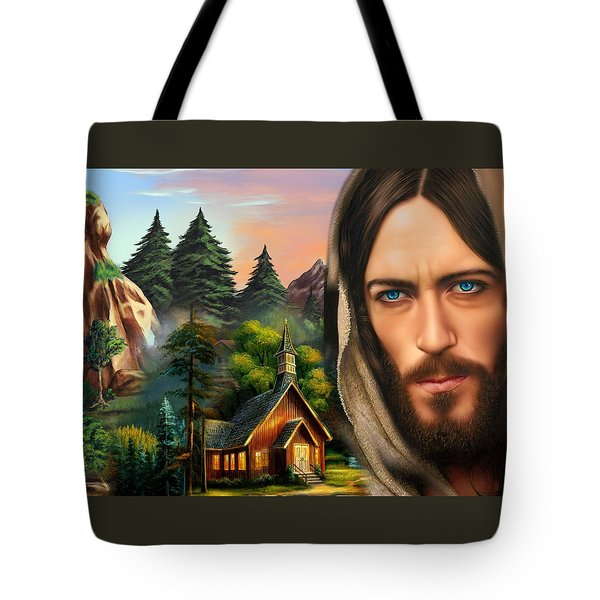 Eyes Of Love And Compassion 2 Tote Bag by Karen Showell