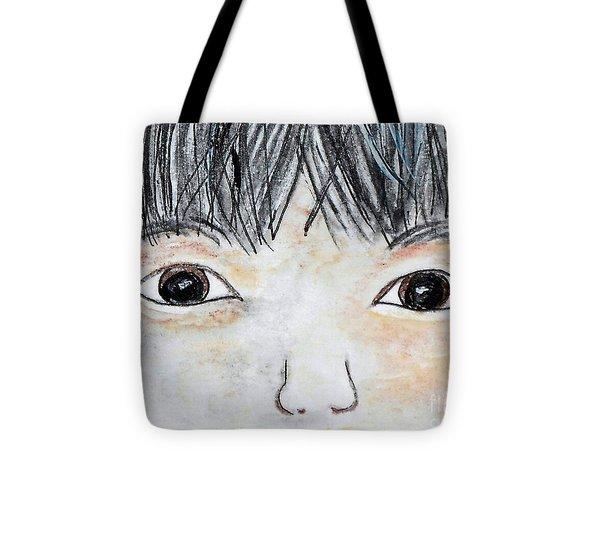 Eyes Of Love Tote Bag by Eloise Schneider