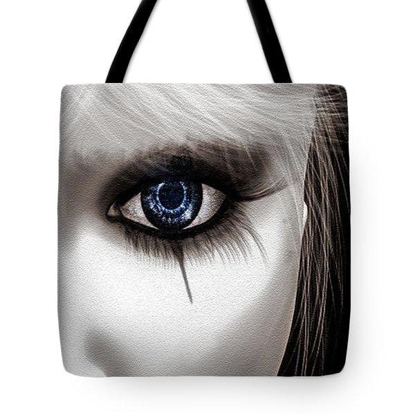 Eyes Of The Fool Tote Bag by Bob Orsillo