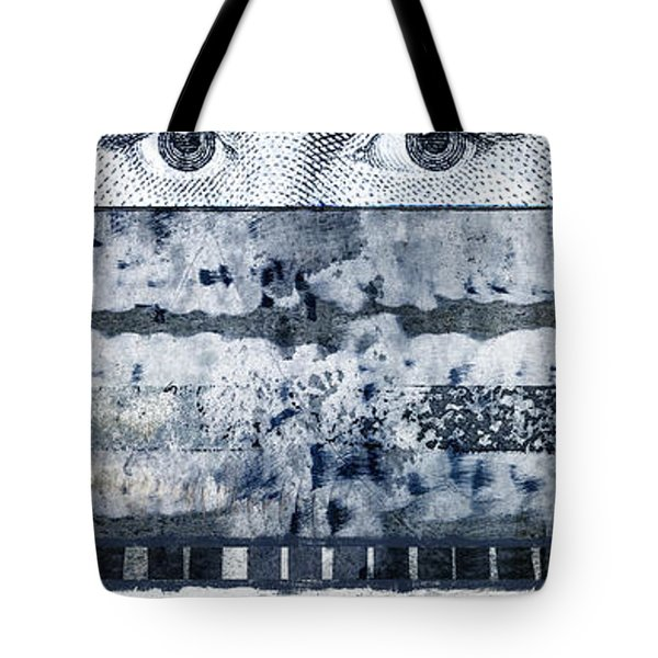 Eyes On Seven Tote Bag by Carol Leigh