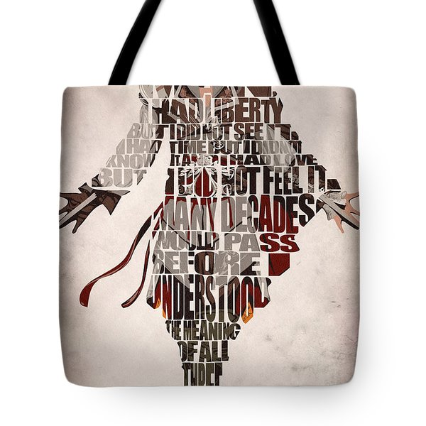 Ezio Auditore Da Firenze From Assassin's Creed 2  Tote Bag