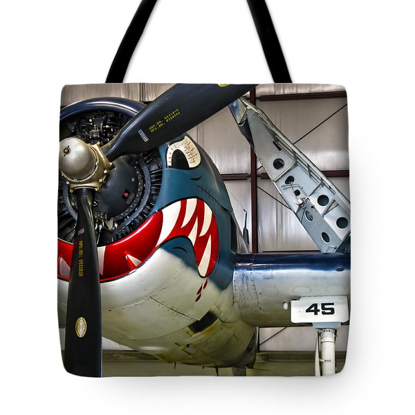 F6f Hellcat Tote Bag by Dale Jackson