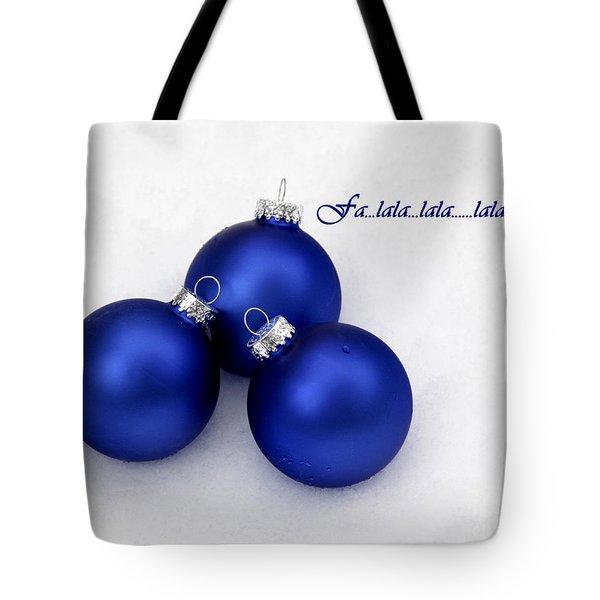 Fa La La Tote Bag