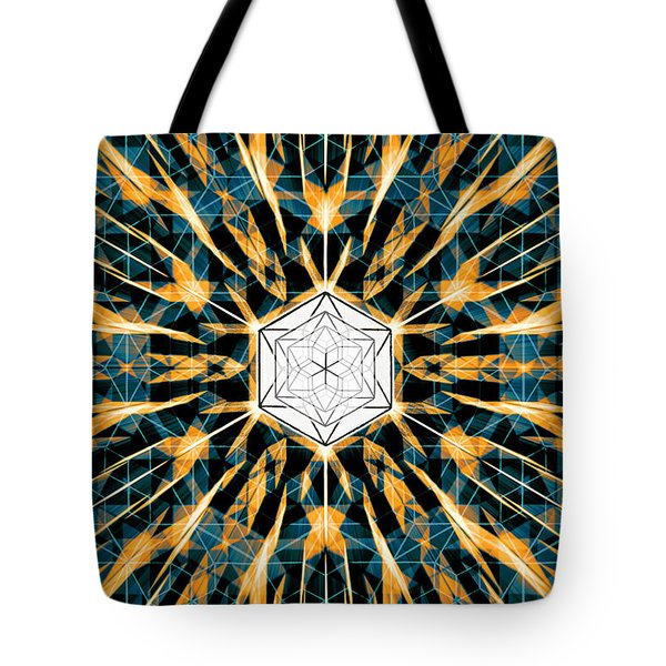 Fabric Of The Universe Tote Bag by Derek Gedney