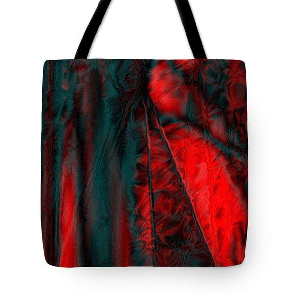 Fabric Study 01 Satin Tote Bag