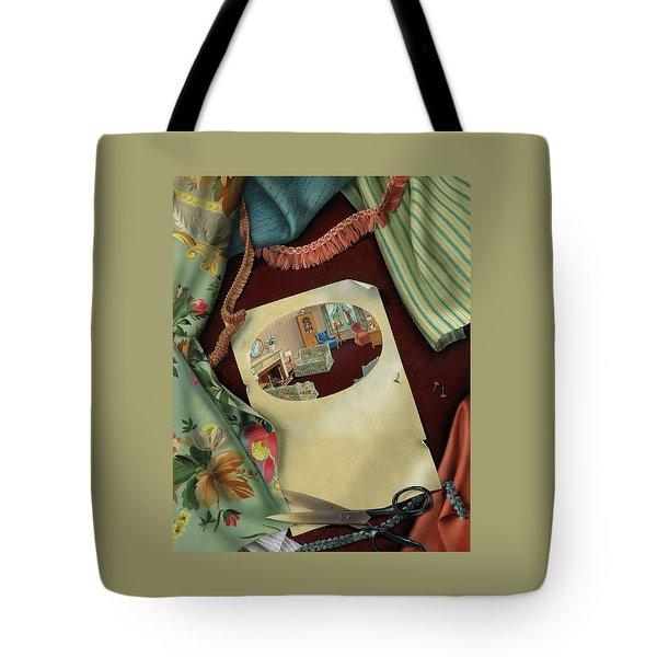 Fabrics And Trimmings Tote Bag