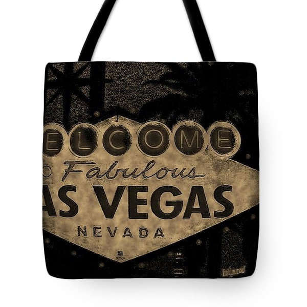 Fabulost Vegas Spelling Correct Tote Bag by John Malone