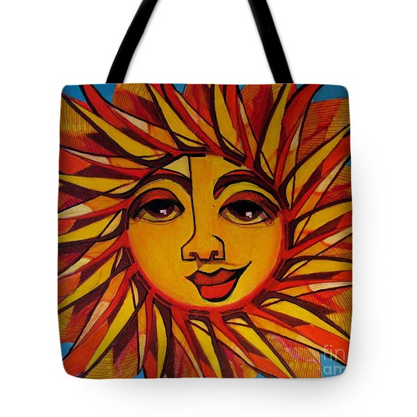 Fabulous Fanny - Here Comes The Sun Tote Bag