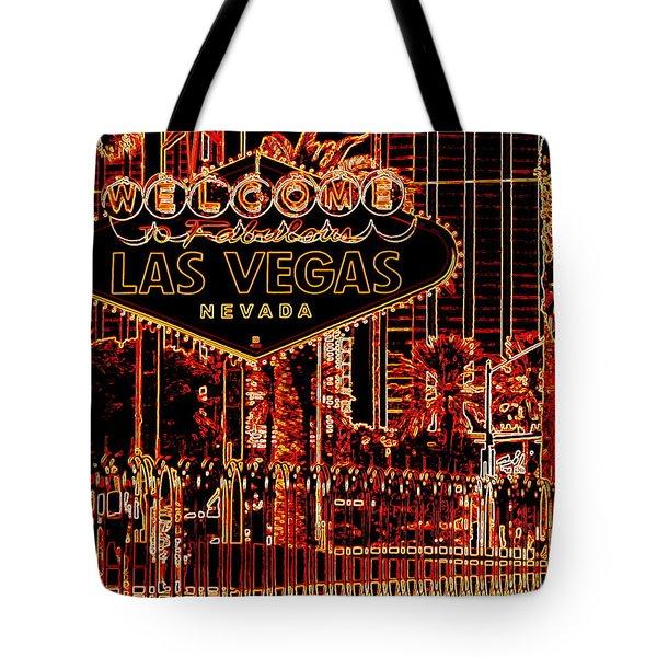Fabulous Las Vegas Tote Bag