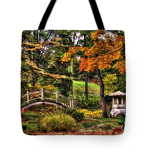 Fabyan Japanese Gardens I Tote Bag