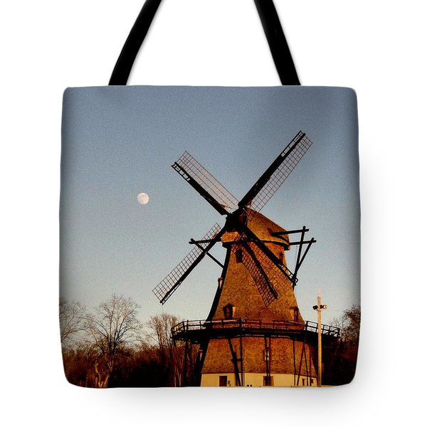 Fabyan Windmill Tote Bag by Ely Arsha