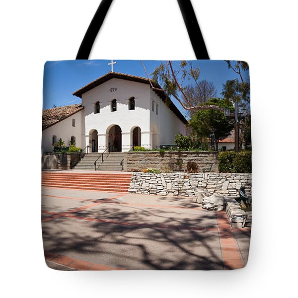 Facade Of A Church, Mission San Luis Tote Bag