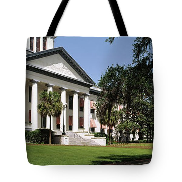 Facade Of The Old Florida State Tote Bag by Panoramic Images