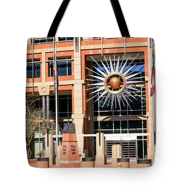 Facade Of The Phoenix City Hall Tote Bag