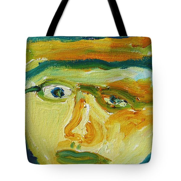 Face Eight Tote Bag