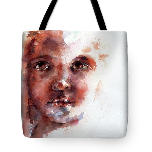 Face Of Africa Tote Bag by Stephie Butler