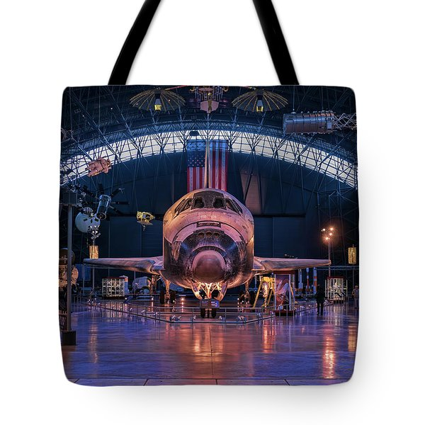 Face Of Discovery Tote Bag