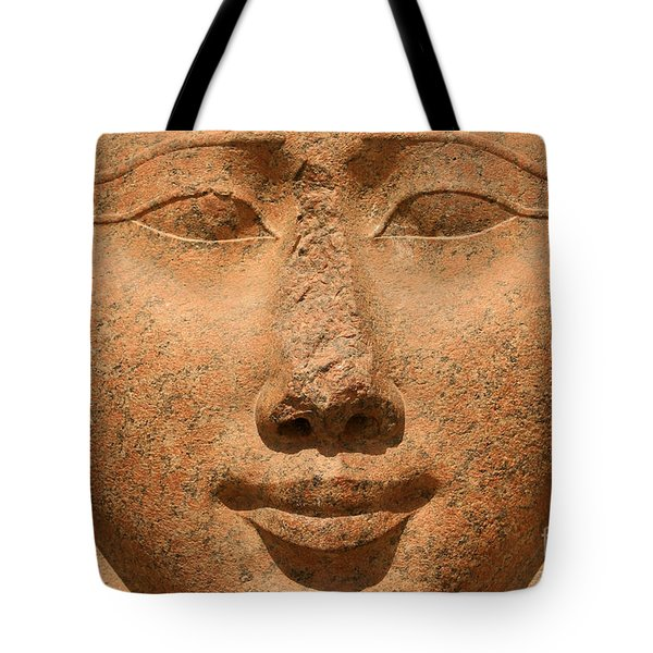 Face Of Hathor Tote Bag by Stephen & Donna O'Meara