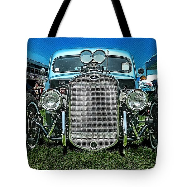 Face Of The Rat Rod Tote Bag