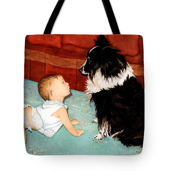 Face-to-nose Tote Bag