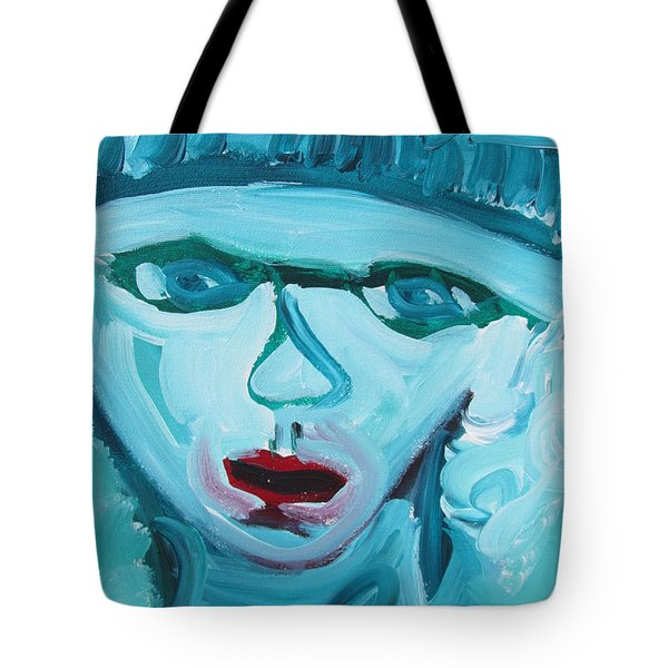 Face Two Tote Bag