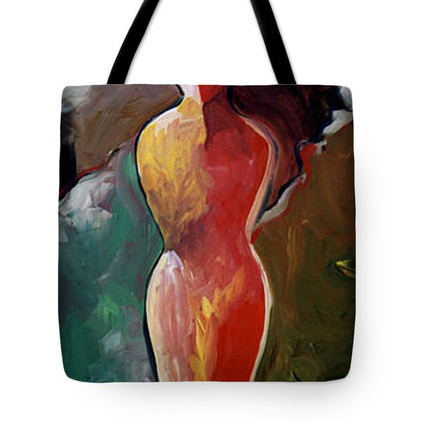 Faceless Figure Tote Bag by Lance Headlee