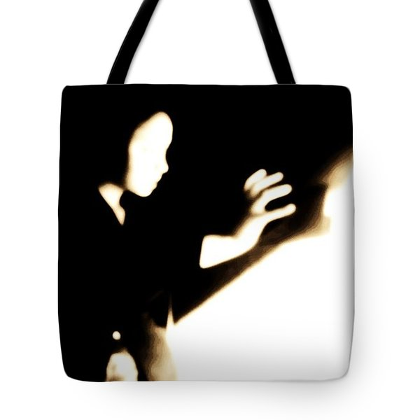 Tote Bag featuring the photograph Faceless Magician  by Jessica Shelton