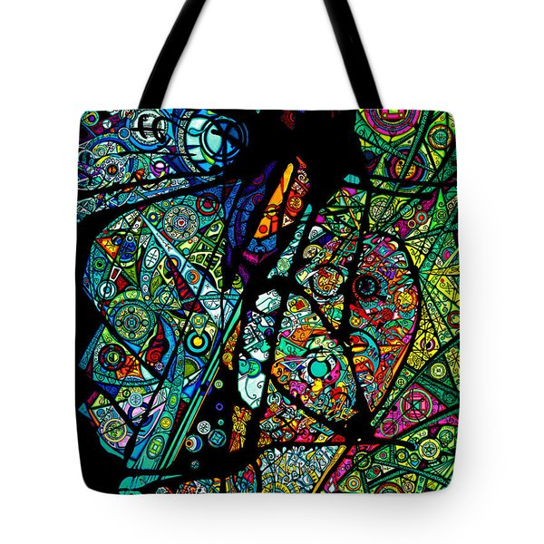 Facets Of Love Tote Bag